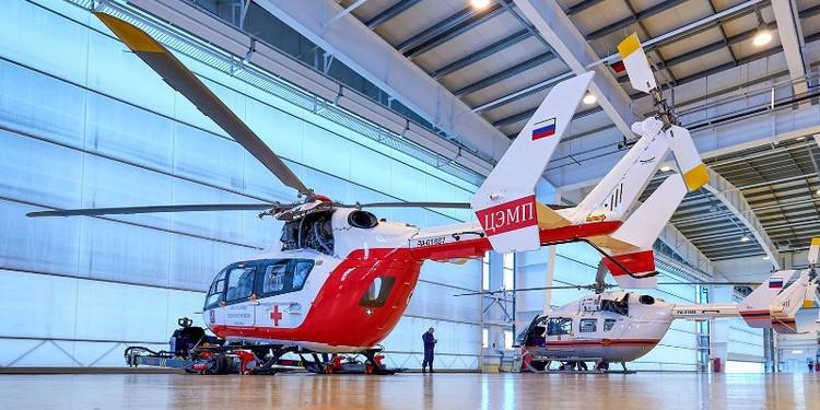 Сегодня в Москве три вертолета: они полностью закрывают потребность столицы. Фото: ДЗМ