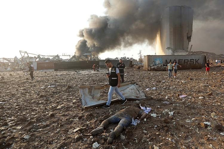 Взрыв невероятной силы прогремел в ливанской столице, Бейруте