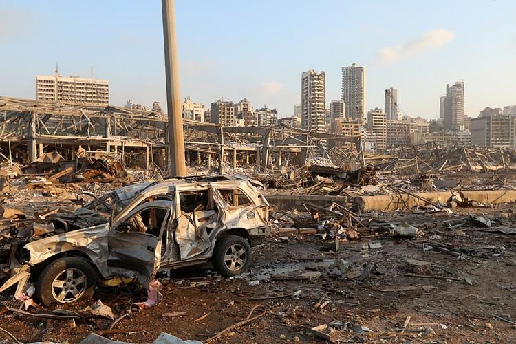 Половина города оказалась разрушена