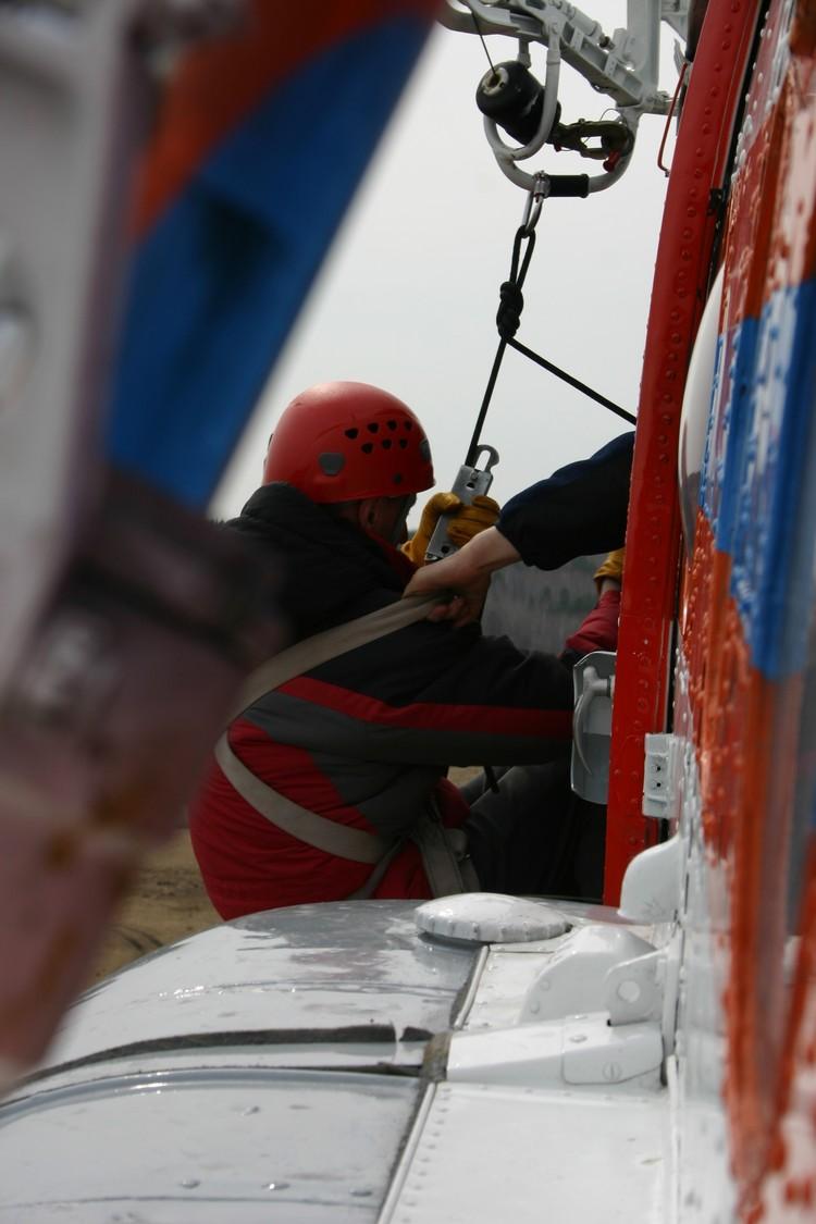 Спасение с вертолета. Фото: архив СРПСО.