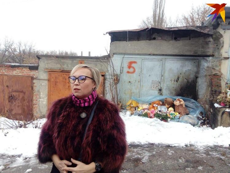 Елена Киселева, мать убитой девятилетней Лизы