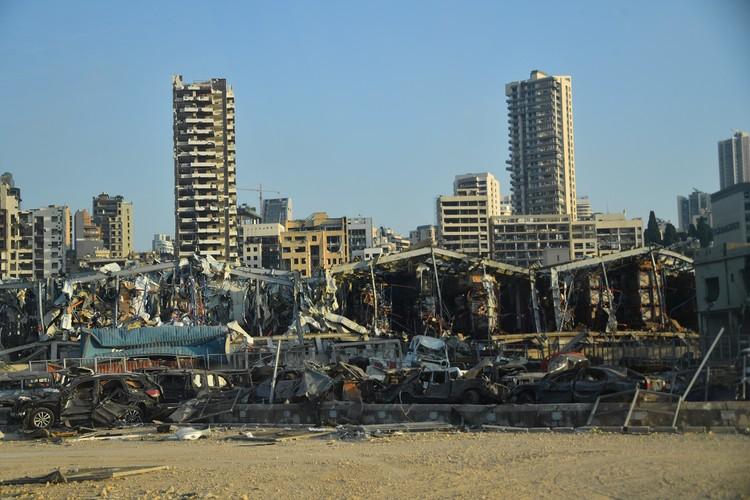 Ангар с селитрой взорвался недалеко от застроенного жилого района города