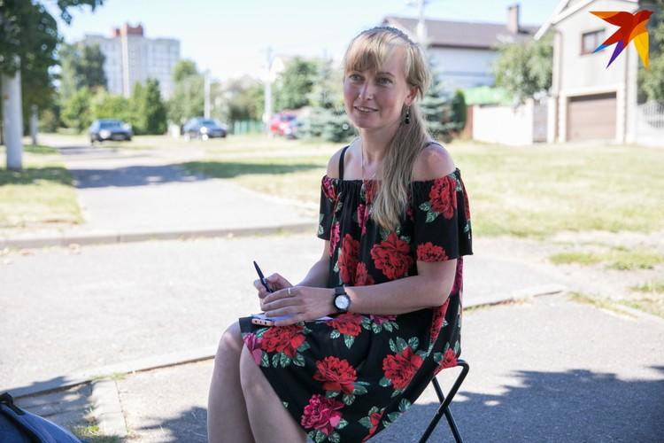 Татьяна взяла отпуск за свой счет, чтобы наблюдать за голосованием