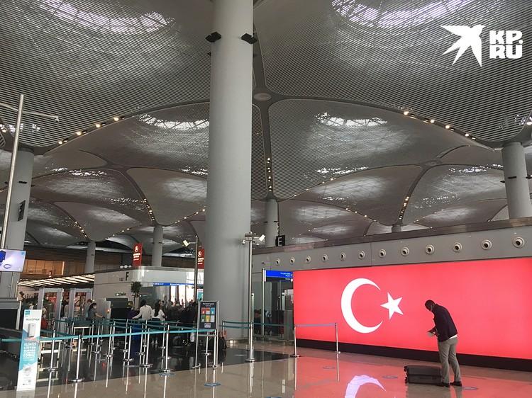 Новый международный аэропорт Стамбула производит не меньшее восхищение, чем старая Айя-София