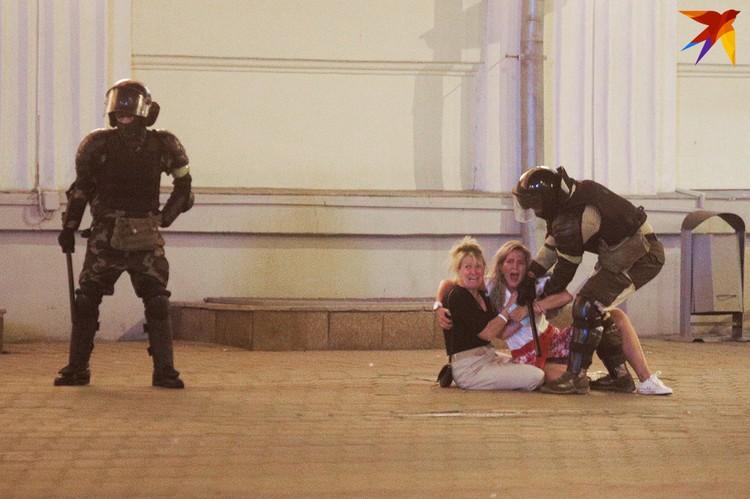 Столкновения в районе Немиги