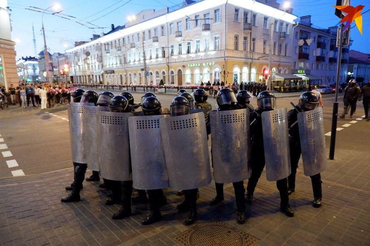 Протесты в Гомеле.