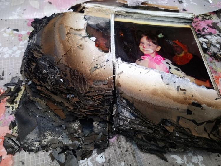 В доме Степановых надеются укрепить стену, за которой полыхал огонь