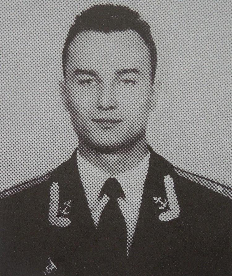 Капитан-лейтенант Сергей Фитерер.