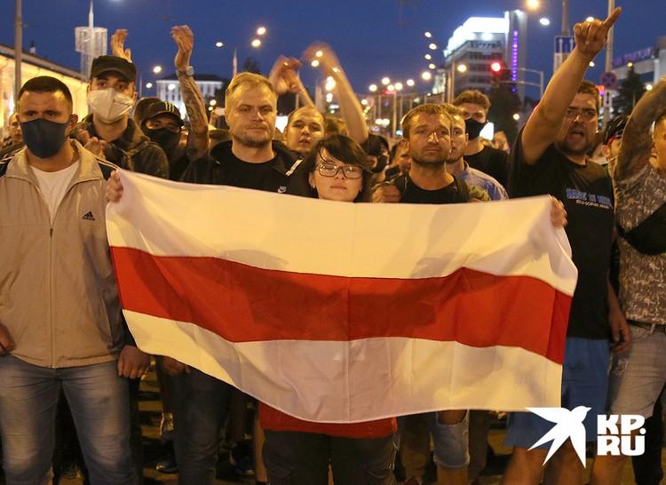 Столицу Белоруссии ждёт третья неспокойная ночь.