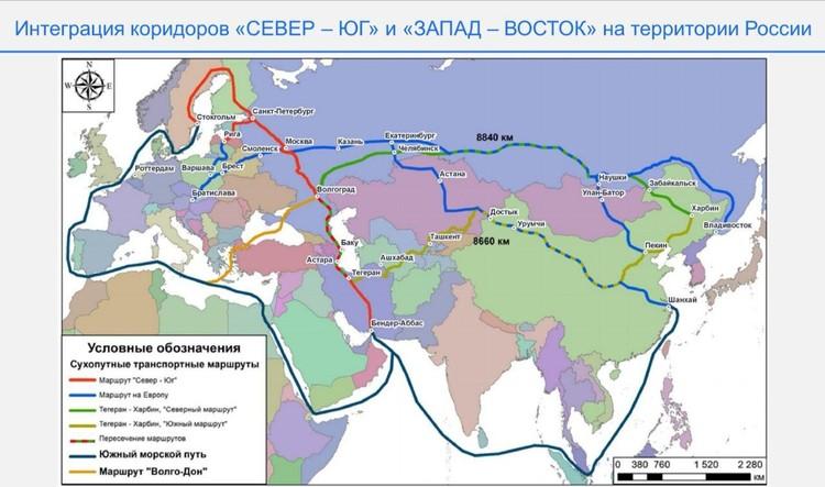 Волгоград намерены сделать центром Шелкового пути.