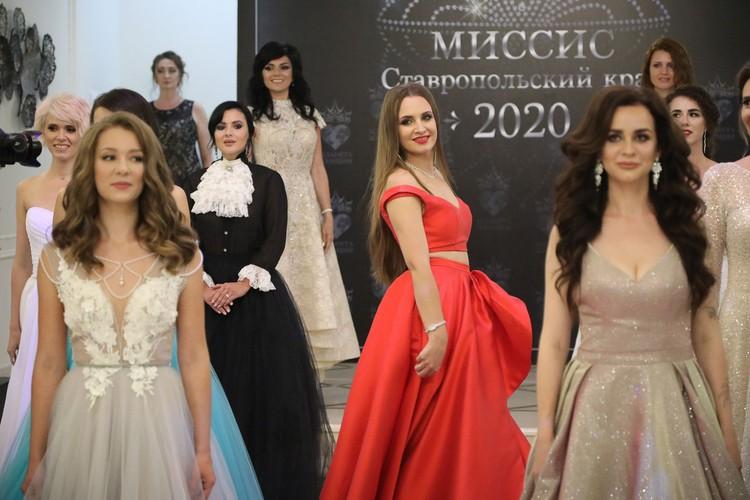Показ платьев