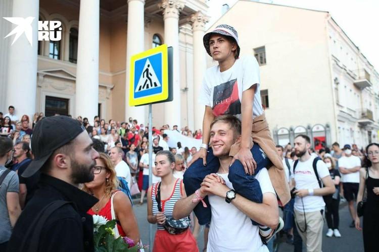 Протесты в Белоруссии сравнивают с Майданом