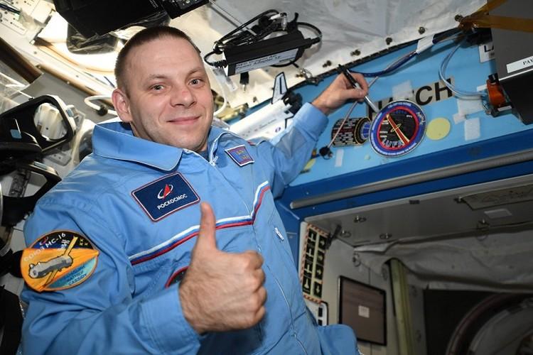 Иван Вагнер с апреля находится в первой для него космической экспедиции. Фото: vk.com/ivan_mks63