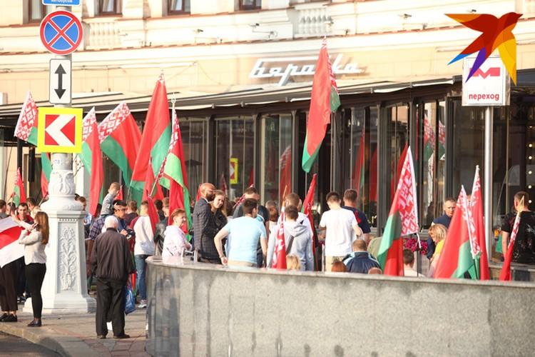 На прошлой неделе провластные митинги чередовались протестными.
