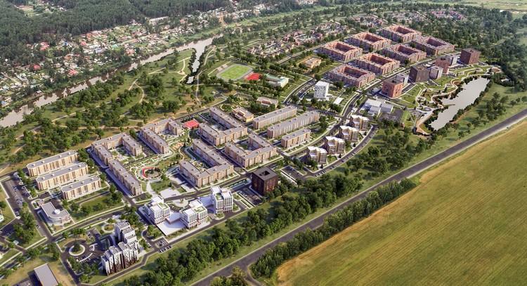 Компания планирует построить на левобережье еще два микрорайона – Центральный и Южный