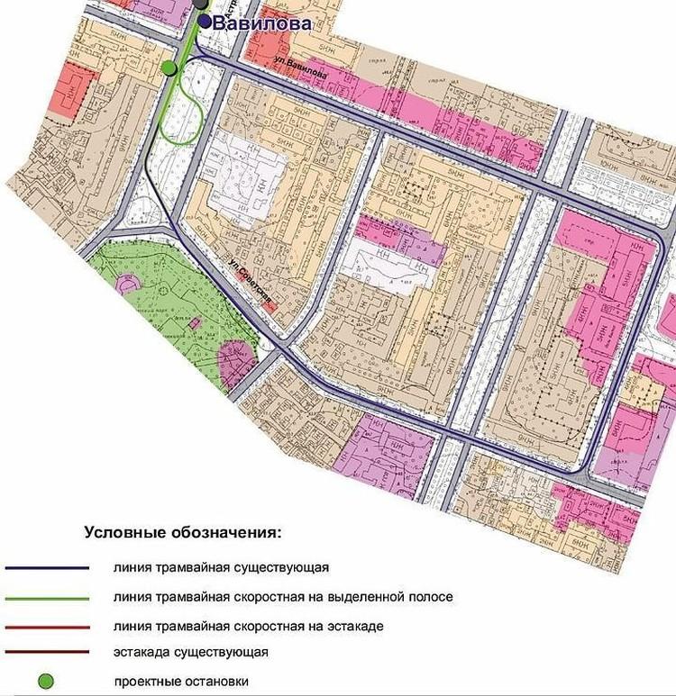 Согласно всем представленным томам и картам, линия в Мирный переулок не подлежит демонтажу, несмотря на то, что не является частью скоростной трамвайной линии маршрута №3. Фото из блога Дениса Жабкина