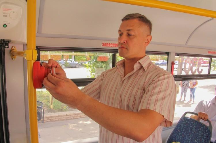 Уже на этой неделе новый трамвай начнет перевозить горожан