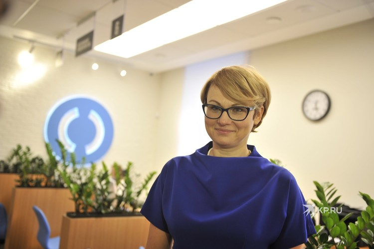 Управляющая банком «Открытие» в Свердловской области Наталья Алемасова.