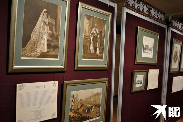 На выставке представлены 72 работы из фондов Калужского музея изобразительных искусств.