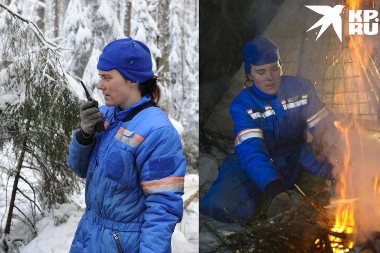 Девушка променяла микрофон на рацию и мечты о полете. Фото: Роскосмос.