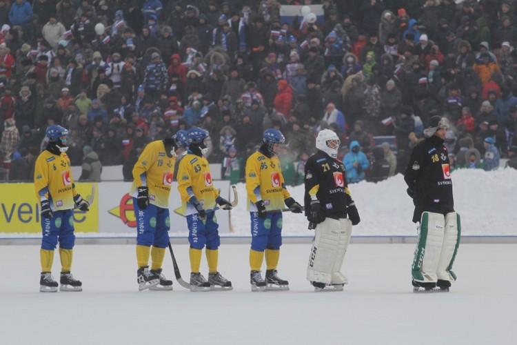 Отказ сборной Швеции от участия в турнире может привести к переносу Чемпионата мира по хоккею с мячом