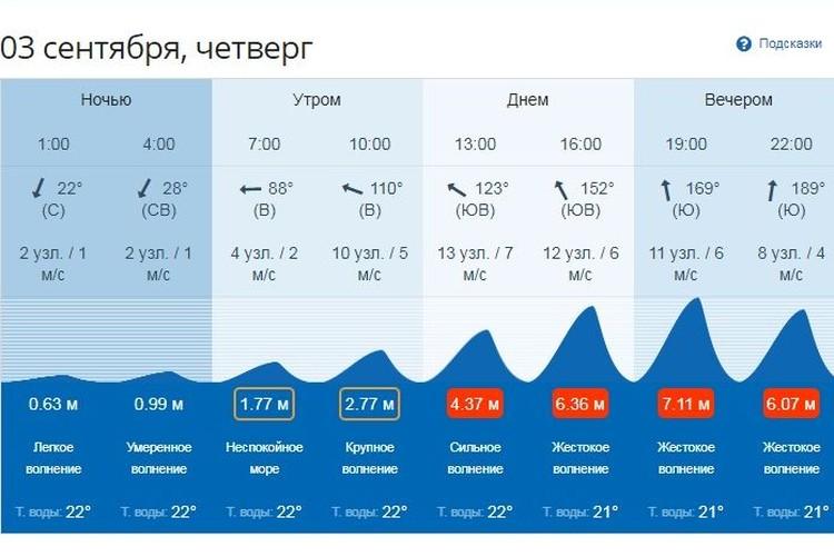 Синоптики прогнозируют очень сильные волны. Фото: primpogoda.ru