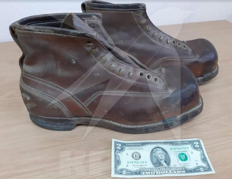 Ботинки Жоржа Коваля.