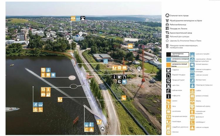 Вот какой досуг можно организовать на набережной. Фото: администрация Нязепетровска