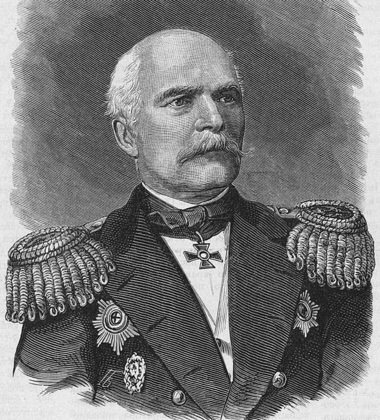 Русский адмирал Геннадий Иванович Невельской.