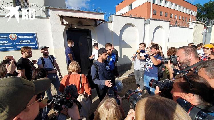 В суде Октябрьского района белорусской столицы завершился процесс по делу задержанных во время студенческой акции протеста журналистов «КП-Беларусь»