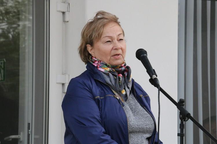 Со словами большой благодарности выступила бывший директор детского дома, заслуженный учитель России Татьяна Дмитриевна Алексеева