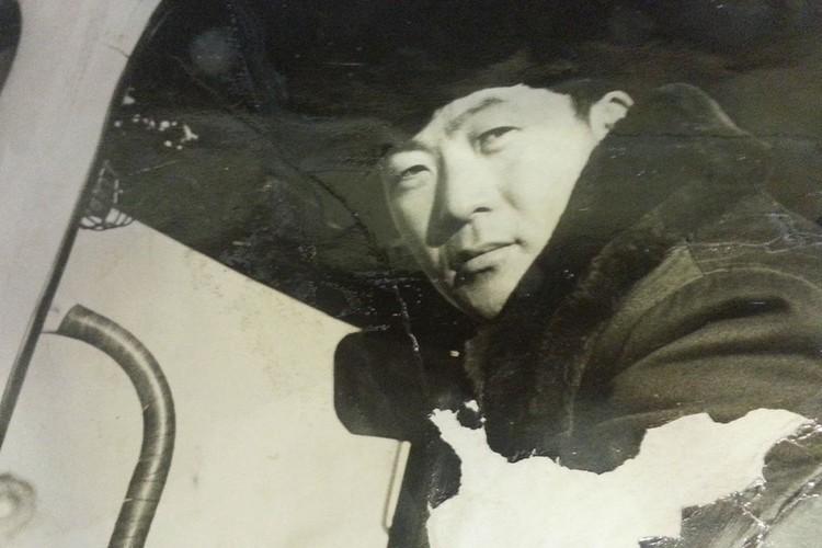 Николай Нем работал водителем. Фото: личный архив.