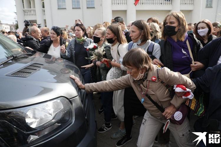 Женщины были рассержены