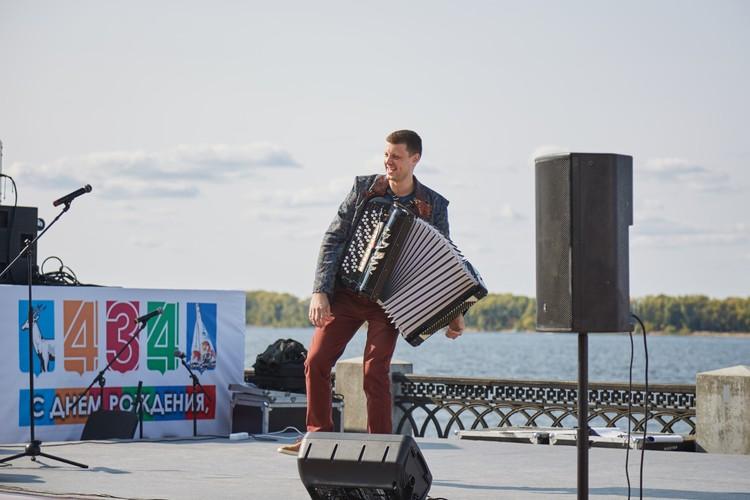 На набережной было весело. Фото: Людмила Грибцова