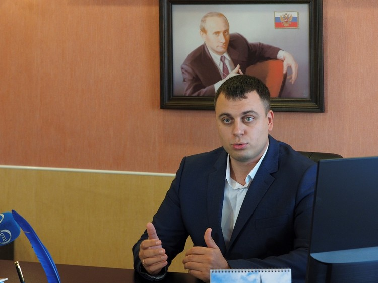 Глава Нижнетуринского округа Алексей Стасенок