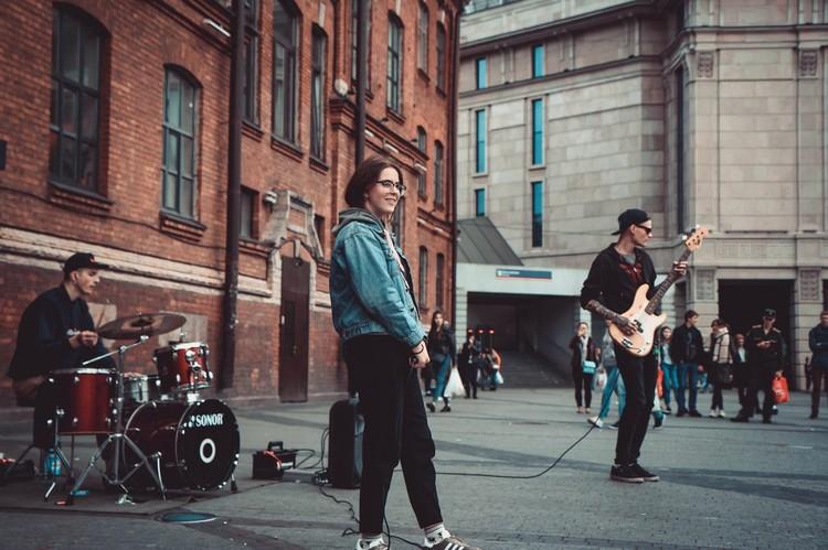 """Группа """"Штрудель"""" уже три года играет на одном и том же месте. Фото: страница группы """"Штрудель"""" """"ВКонтакте"""""""