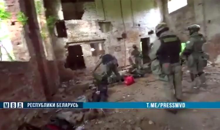 Сегодня оперативники МВД задержали «лесной отряд» под Могилевом