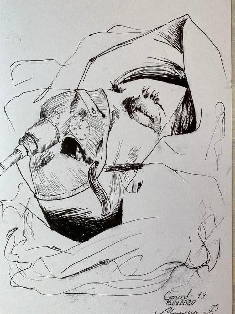 Дышать без аппарата ИВЛ некоторые пациенты уже не могут. Фото: Минздрав Кузбасса
