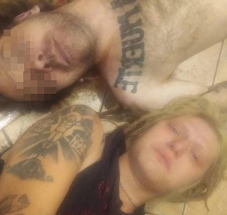 Супруг, по словам девушки, был не против такого фото