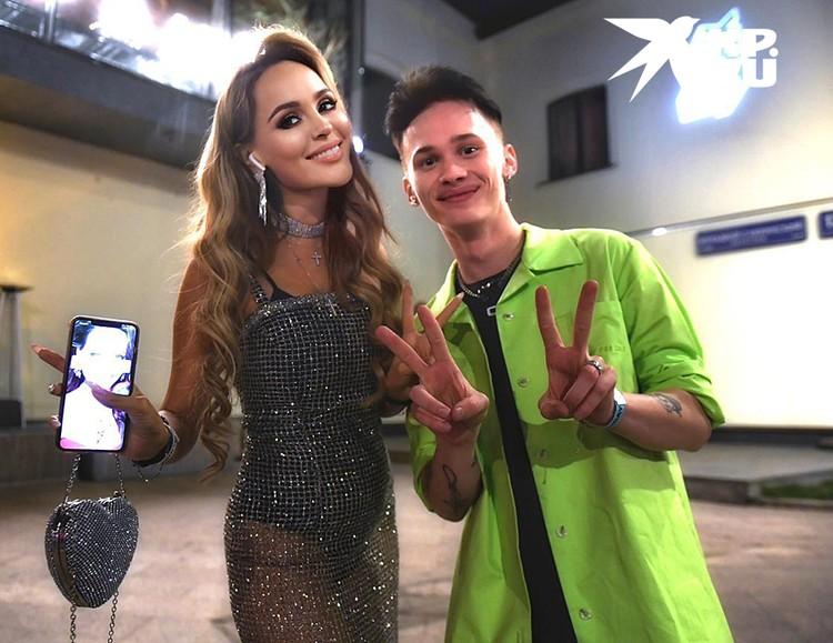 Анна Калашникова с Даней Милохиным