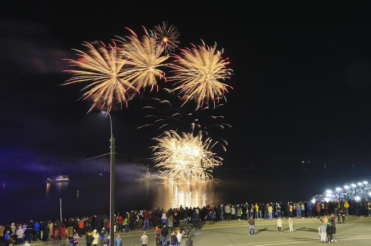 Салют на День города в Барнауле 19 сентября 2020