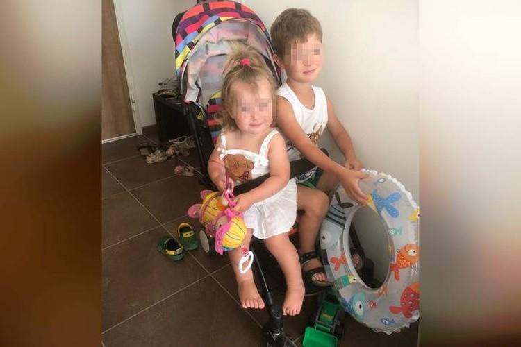 Дети очень скучали по отцу, который работал в Москве. Фото: соцсети