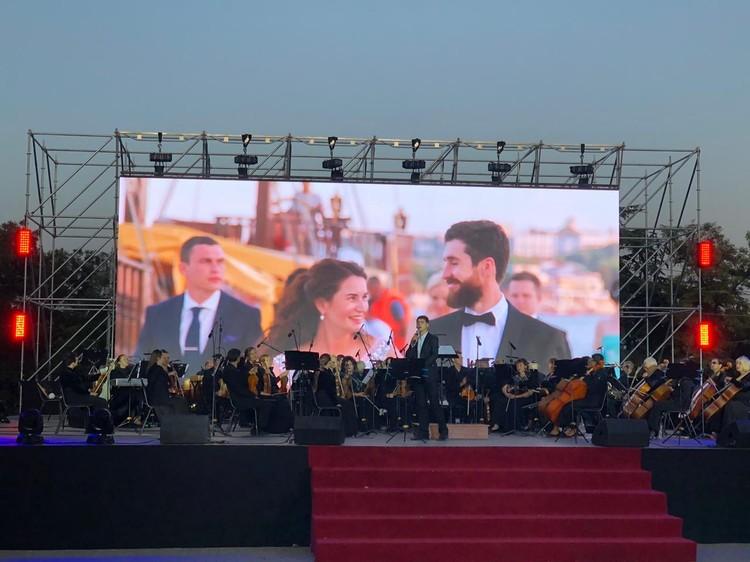 Без Севастопольского государственного симфонического оркестра вечер не состоялся бы. Атмосфера была на высоте