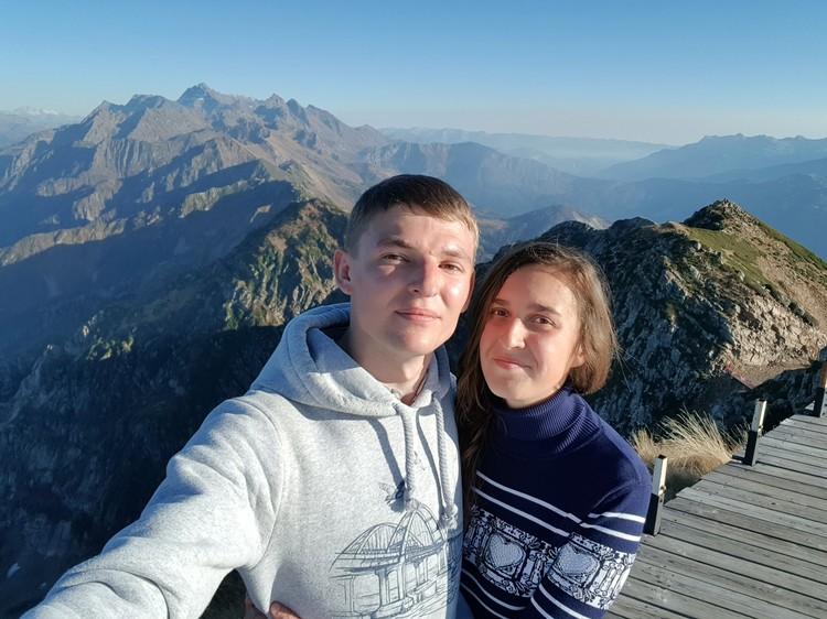 Александр и Мария Долгополовы. Фото: Александр Долгополов/ВК