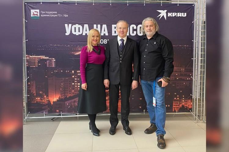 Премьер-министр Башкирии Андрей Назаров также посетил выставку «Уфа на высоте»