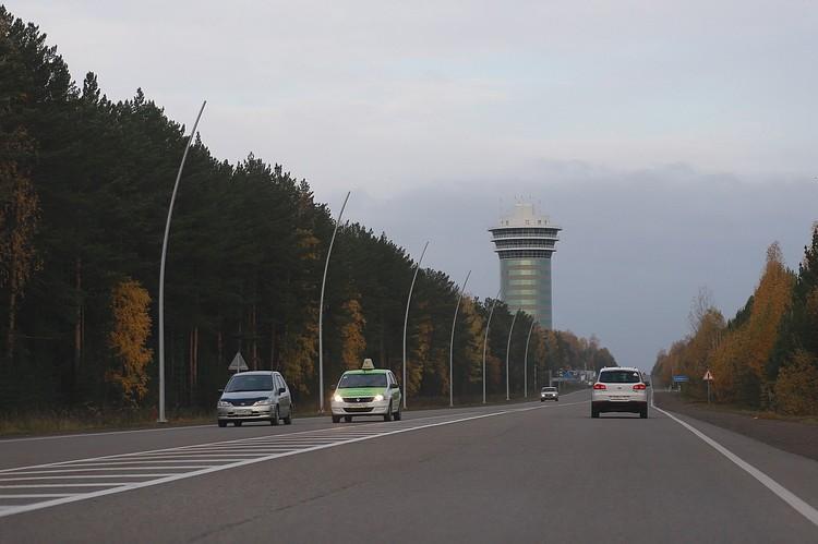Все случилось на трассе в аэропорт Красноярск. Днем - кругом были машины, люди.