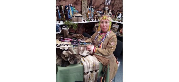 XV Международная выставка-ярмарка «Сокровища Севера. Мастера и художники России» проходит в Москве.
