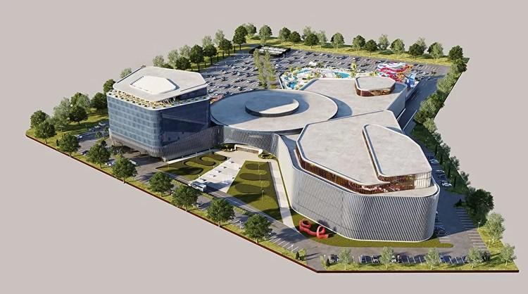 Таким будет аквапарк в Красноярске. Фото: krasaqua.ru.