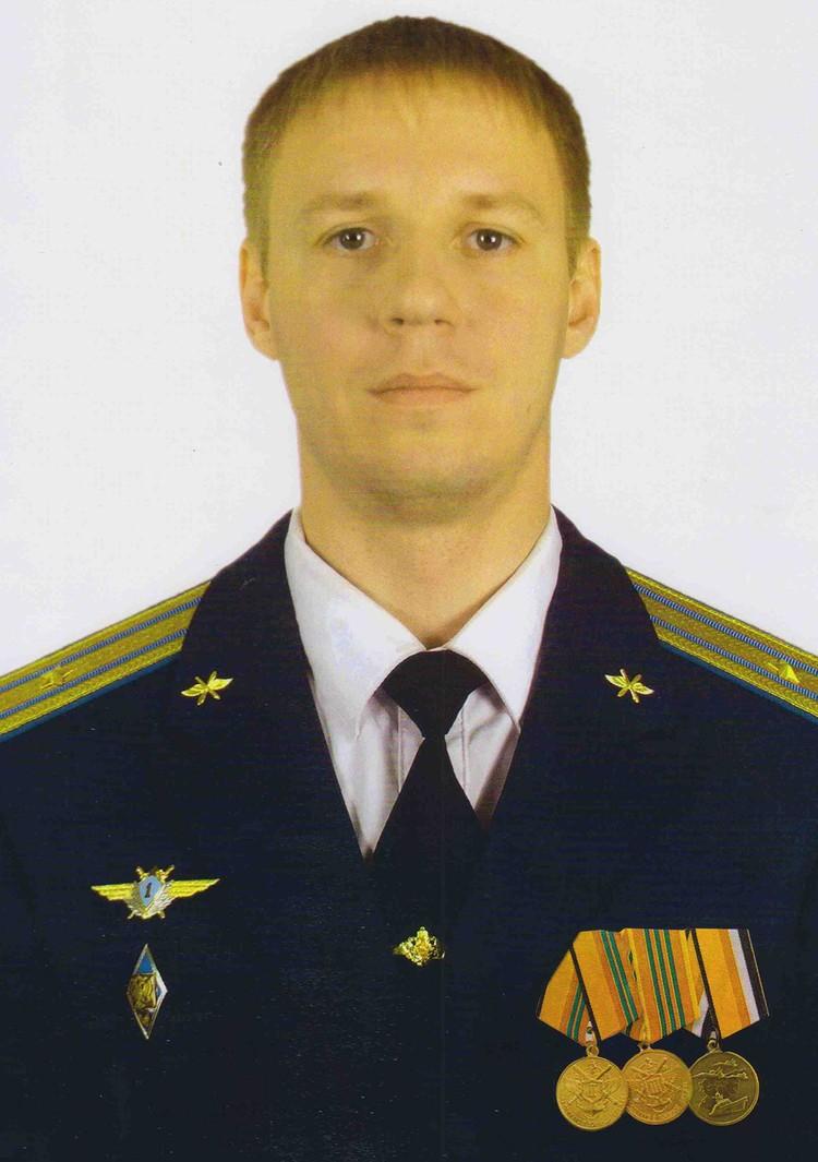 Герой России, майор Роман Филипов.