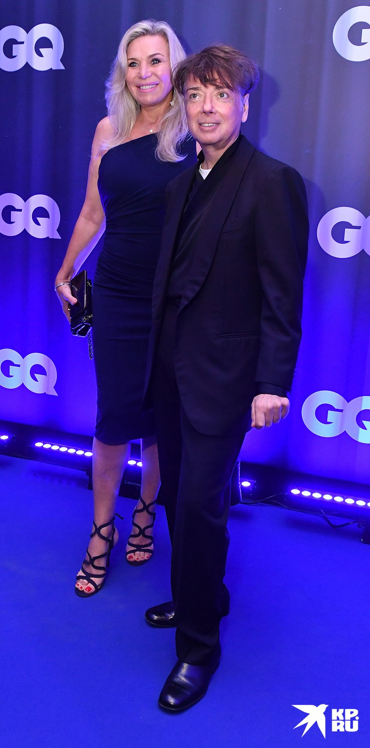 Валентин Юдашкин с женой.